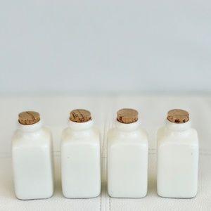 Vintage Ceramic Bottles – Set of Four
